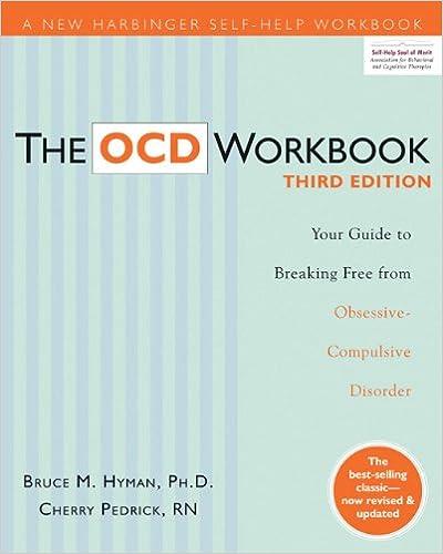 Ocd Workbook Pdf