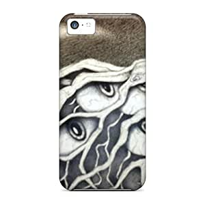 5c Scratch-proof Protection Case Cover For Iphone/ Hot Roots Phone Case