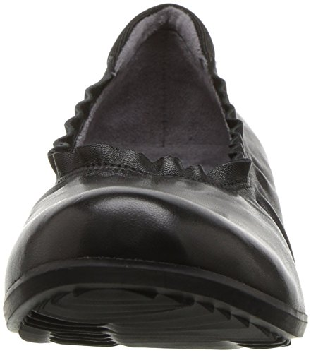 Flat Softwalk US Black Wish Women's Black M 11 wqcgxwSr7E
