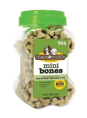 Macs and Buddy Fresh Breath Mini Bones, 14-Ounce, My Pet Supplies