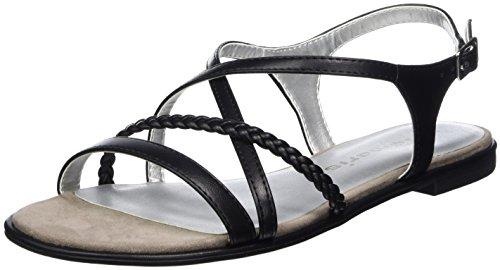 mujer Mate Negro de Tamaris cuña 015 tacones 28109 para con sandalias wwxq17z0