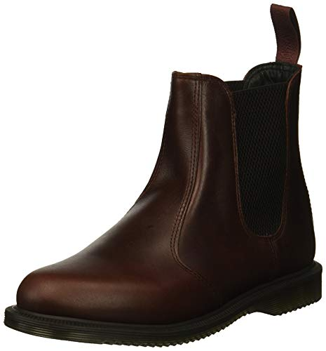 Dr Martens Women's Flora Leather Pull On Boots Charro Brando