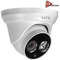 LTS Platinum Fixed Lens Turret IP Camera: 4.1MP, 2.8mm, 1/3 CMOS, 2688 x 1520P @ 20fps, DWDR, 3D DNR, BLC, VCA Matrix IR LED up to 100ft, IP66, PoE, UL Listed - CMIP1142-28