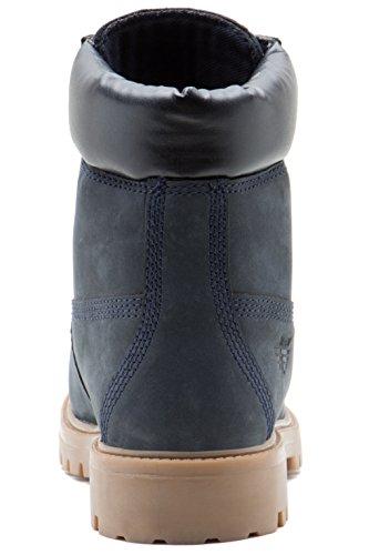 Bleu Buckland Biker Boot Pour Red Les Xbvwxq For Hommes Tape Nubuck wwxq8g7