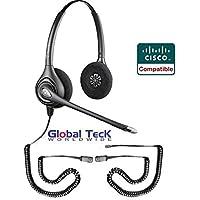Cisco Phone Compatible Plantronics HW261N Bundle - Cisco Phones: 7931, 7932, 7940, 7941, 7942, 7945, 7960, 7961, 7962, 7965, 7970, 7971, 7975, 7985, 6921, 6941, 6945, 6961 8941, 8945, 8961, 9951, 9971