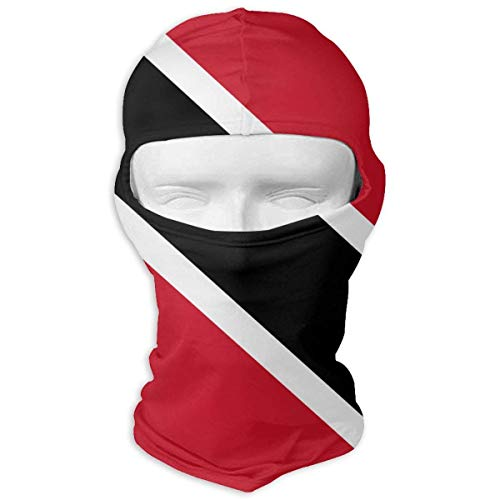 (Mewisx Trinidad and Tobago Flag Windproof Dust Protection Balaclava Full Face Mask Hood)