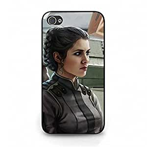 Cartoon Star Wars Series Cover Case for Iphone 4/4s Classical Style Leia Organa Head Case