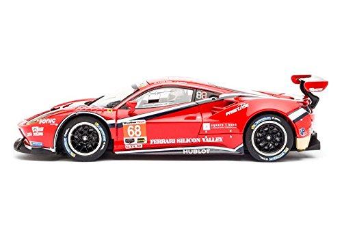 Carrera 30809 - Digital 132 Scuderia Corsa 2016 Ferrari 488 GT3 #68 Alessandro Pier Guidi / Daniel Serra: Amazon.es: Juguetes y juegos