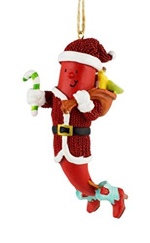 Cape Shore Chili Man Santa Ornament ()