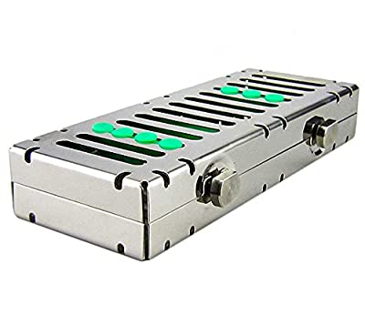 Airgoesin 5 Slot Sterilization Cassette Rack for 5 Dental Surgical Instrument Autoclavable