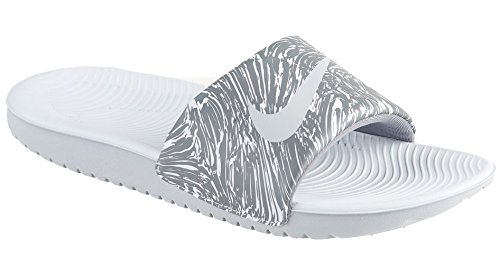 Pure Big Slide Grey NIKE Kawa Wolf Grey Platinum Kids cool USp5IW