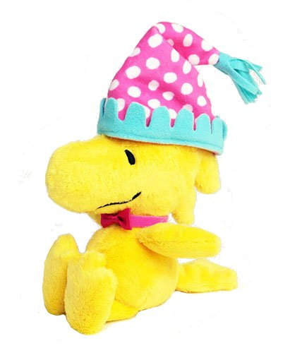 PEANUTS Woodstock party hat plush S size by Nakajima Corporation (NAKAJIMA CORPORATION)