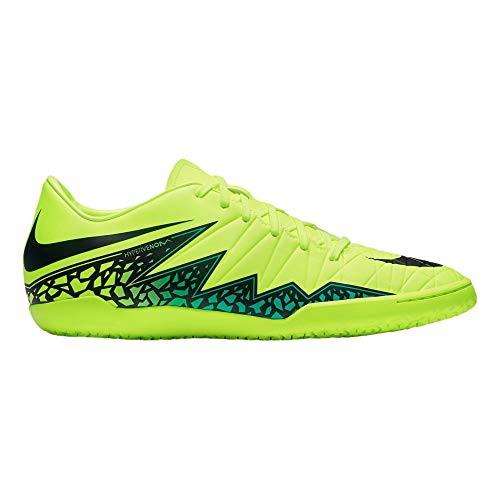 Nike Men's Hypervenom Phelon II IC Indoor Soccer Shoe (Sz. 8.5) Volt