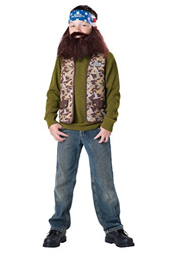 Duck For Dynasty Halloween Sale Costumes (Duck Dynasty Willie Child Costume, Size)