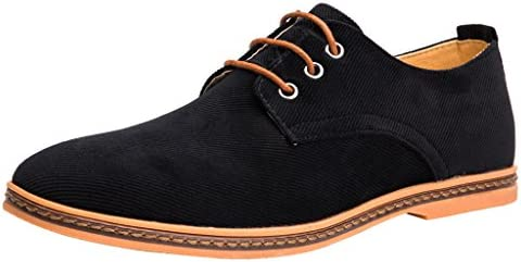 4HOW Mens Casual Oxford Dress Shoes