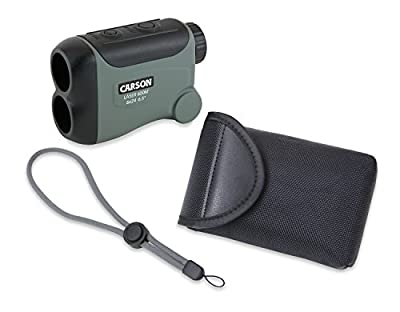 Carson Litewave 650 Yard Laser Rangefinder for Hunting, Golf, Engineering Surveys, Construction, Racing, Archery and More (RF-650) from Carson Optical, Inc