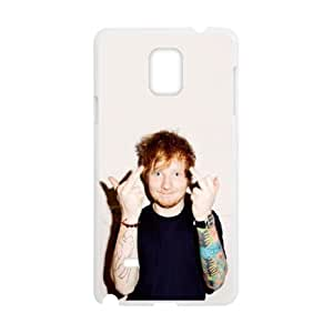 Ed Sheeran Samsung Galaxy Note 4 Cell Phone Case White Protect your phone BVS_772857