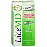 LiceMD Lice & Egg Removal Kit - 4 oz, Pack of 5