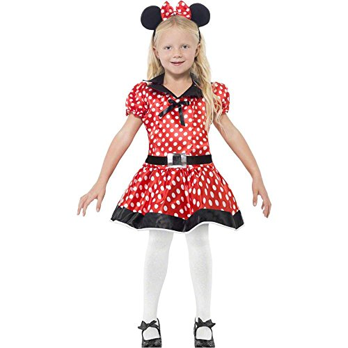 Cute Minnie Mouse Costumes For Kids (Cute Mouse Child Costume - Medium)