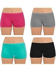 Dice Underwear - Hot Shorts For Women - Plain - - 4 Pcs