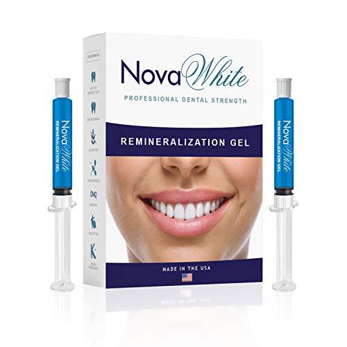 (NovaWhite Remineralization Gel, 40+ Treatments, Reduces Teeth Sensitivity, Strengthens Tooth Enamel, Teeth Sensitivity Treatment, Remineralizing Gel for Sensitive Teeth & Teeth Repair, Desensitizing)