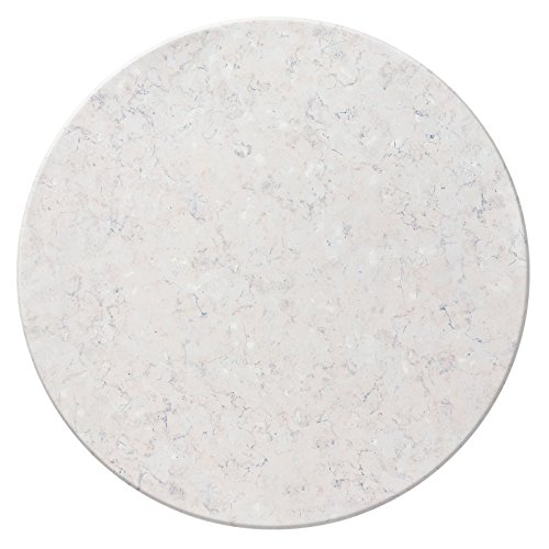 Duratop 24'' Round Table Top in Stone by Contract Style