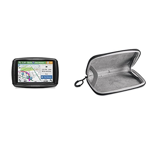 Garmin Zumo 595LM and Carrying Case Bundle by