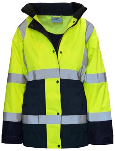 Utility Pro Polyester High-Vis Ladies Jacket with Storm Cuffs