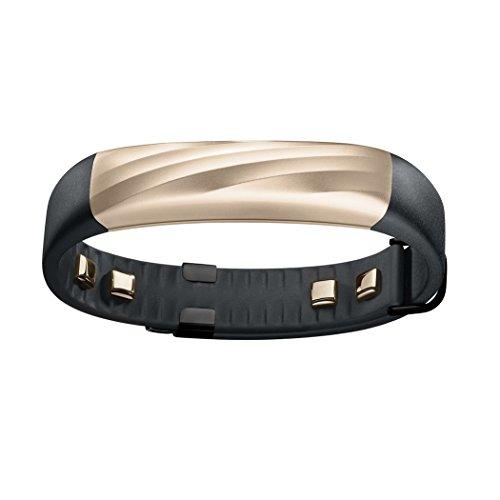 Jawbone UP3 Bluetooth Aktivitäts-/Schlaftracker-Armband (für Apple iOS und Android) black/gold - Exklusiv bei Amazon