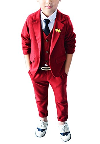 Red 3 Piece Suit - 5