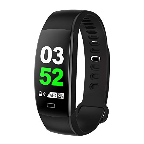 DDgrin Activity Tracker, Slim Waterproof Fitness Tracker Watch with Pedometer Calories and Sleep Monitor, Step Counter Wristband Smart Watch ()