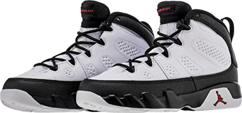 Jordan Retro 9 OG White/True Red-Black (Little Kid) (11.5 M US Little Kid) by Jordan