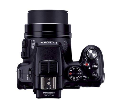 panasonic lumix dmc fz200 12 1 mp digital camera with cmos. Black Bedroom Furniture Sets. Home Design Ideas