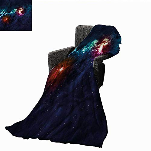 - AndyTours Baby Blanket,Space,Cosmos Galactic Star View,Super Soft Light Weight Cozy Warm Plush Hypoallergenic Blanket 50