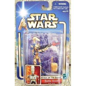 Stars Wars Attack of the Clones (AOTC) Action Figure- Battle Droid Arena Batt...