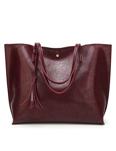 Borsa Rosa La Vinorojo Cuoio 7062 body Menschwear Donne Gestire Bag Spalla Moda Cross qS008v