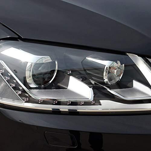 Semoic Auto Klar Scheinwerfer Objektiv Deckel Ersatz Scheinwerfer Schale Abdeckung f/ür Passat B7 2011 2012 2013 2014 2015
