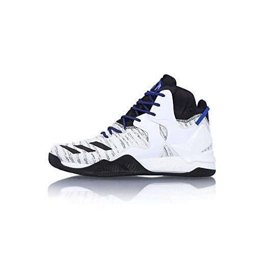 Adidas Herren D Steeg 7 Primeknit Basketballschuhe Blanco (ftwbla / Negbas / Escarl)