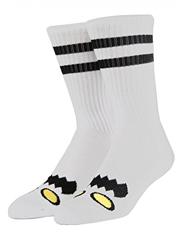 Toy Machine Adult Monster Face Socks One Size (Toy Machine Monster Socks)