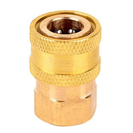 """1//4/"""" Female Brass Hose Quick Connect Coupler for Washer Pneumatic High Pressure"""