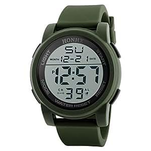 Becoler Digital Military Army LED Men Wrist Watch