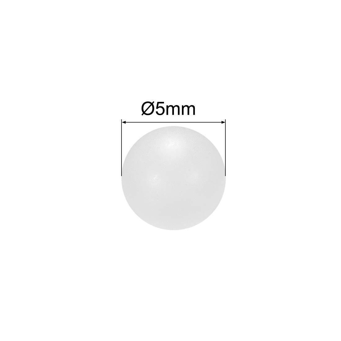 Precision Bearing Ball 100pcs uxcell 3mm PP Solid Plastic Balls
