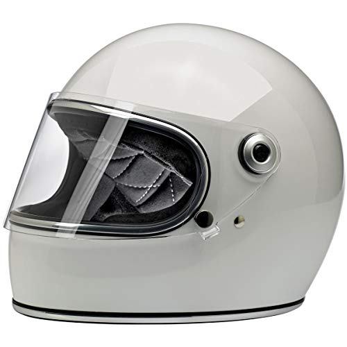Biltwell Gringo S ECE Rated Helmet Gloss White Large (More Size and Color Options)