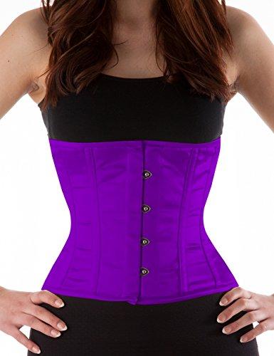 Top Bustino Donna Ab Violett Korsett Basic Manufaktur q4g1O1nt