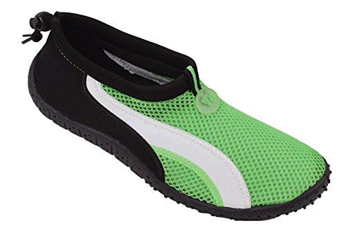 New Mens Slip on Water Pool Beach Shoes Aqua Socks