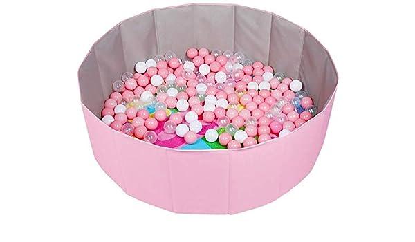 Bola Pit niñas rosa resistente y lavable bola de billar con bolas ...
