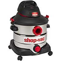 Shop-Vac 5989400 8 gallon 6.0 Peak HP Stainless Wet Dry...