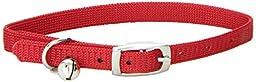 Catit Nylon Adjustable Cat Collar, Red