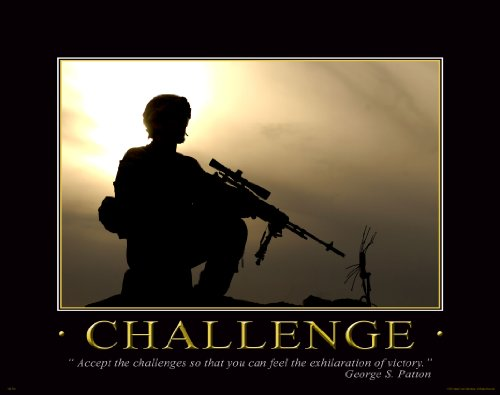 Military Motivational Poster Art Print 11x14 US Army Marines