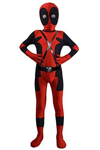 - 41n74J1I1DL - AOVEI Lycra Spandex Zentai Halloween Onesie Kids Cosplay Costumes Costume